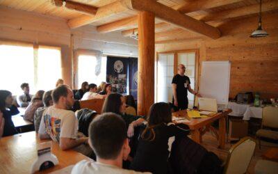 """Międzynarodowe szkolenie """"From learning to earning"""""""